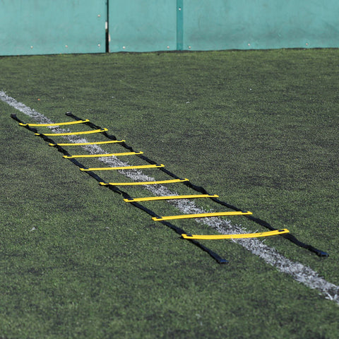 Zilland Agility Flat Rung Speed Ladder