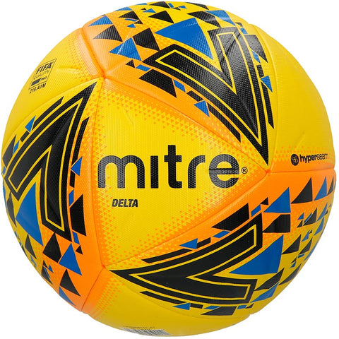 Mitre Delta Pro Match Football - Yellow