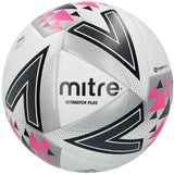 Mitre Ultimatch Plus Match Football - White