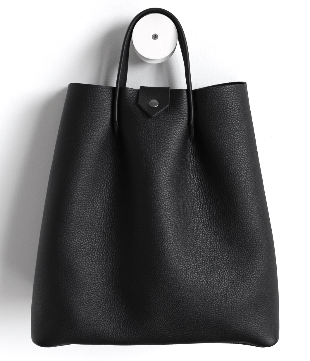 Monday frrry tote bag. shoulder strap. Black