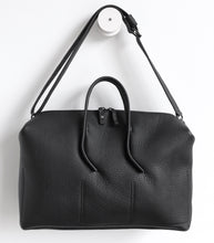Load image into Gallery viewer, Wednesday frrry bag. black. special handles.