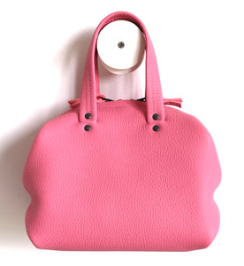 frrry mini moon pink leather bag