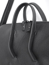 Load image into Gallery viewer, Wednesday frrry bag. black. handles. strong attachment. made to last. sustainable.