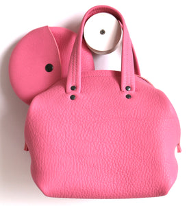 frrry mini moon pink leather bag with moon wallet