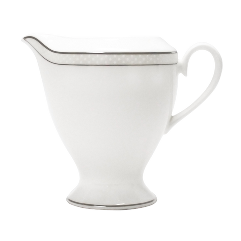 Platinum Beaded Pearl Creamer