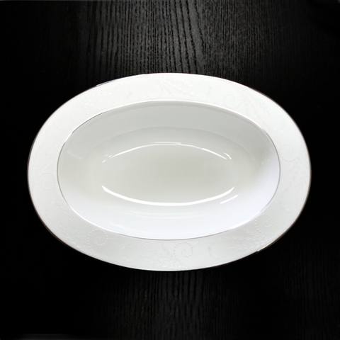 Pearl Ariel Oval Vegetable 11""