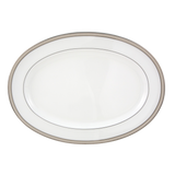 Oyster Pearl Oval Platter 14-1/4""