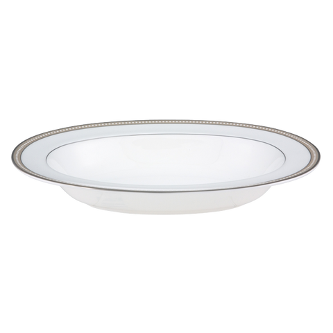 Oyster Pearl Oval Vegetable 11""