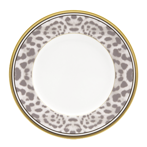 Snow Leopard Plate (Set of 4)