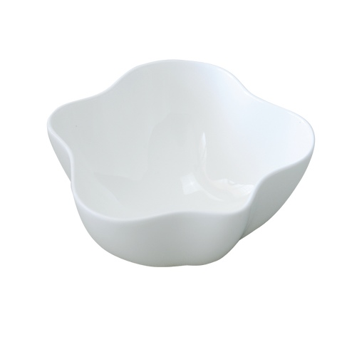 BLOSSOM Plain White Bowl 4 1/4""