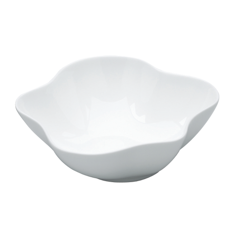BLOSSOM Plain White Bowl 6 1/4""