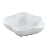 BLOSSOM Plain White Centerpiece Bowl 10-1/4""