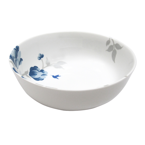 Fanciful Blue Vegetable Bowl 9""