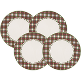"Tartan Dinner Plate 11"" (Set of 4)"