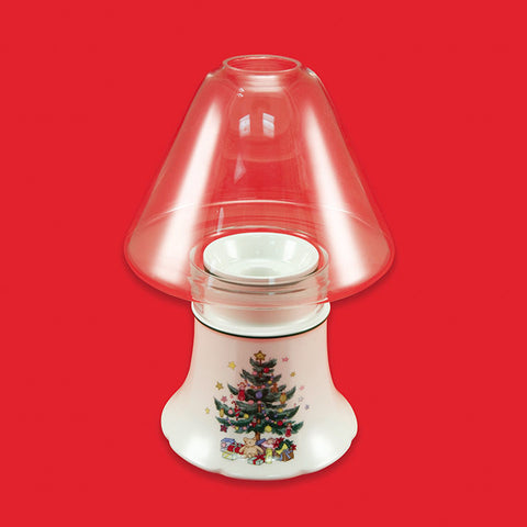 Christmas Glassware Candle Lamp