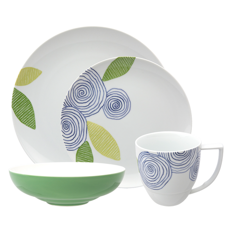 Artist Floral 4-Piece Place Setting
