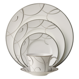 Elegant Swirl 5-Piece Place Setting