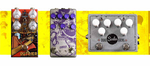 Distortion Pedals Collection Banner | Boost Guitar Pedals