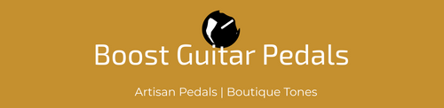 Boost Guitar Pedals Logo - Artisan Pedals, Boutique Tone