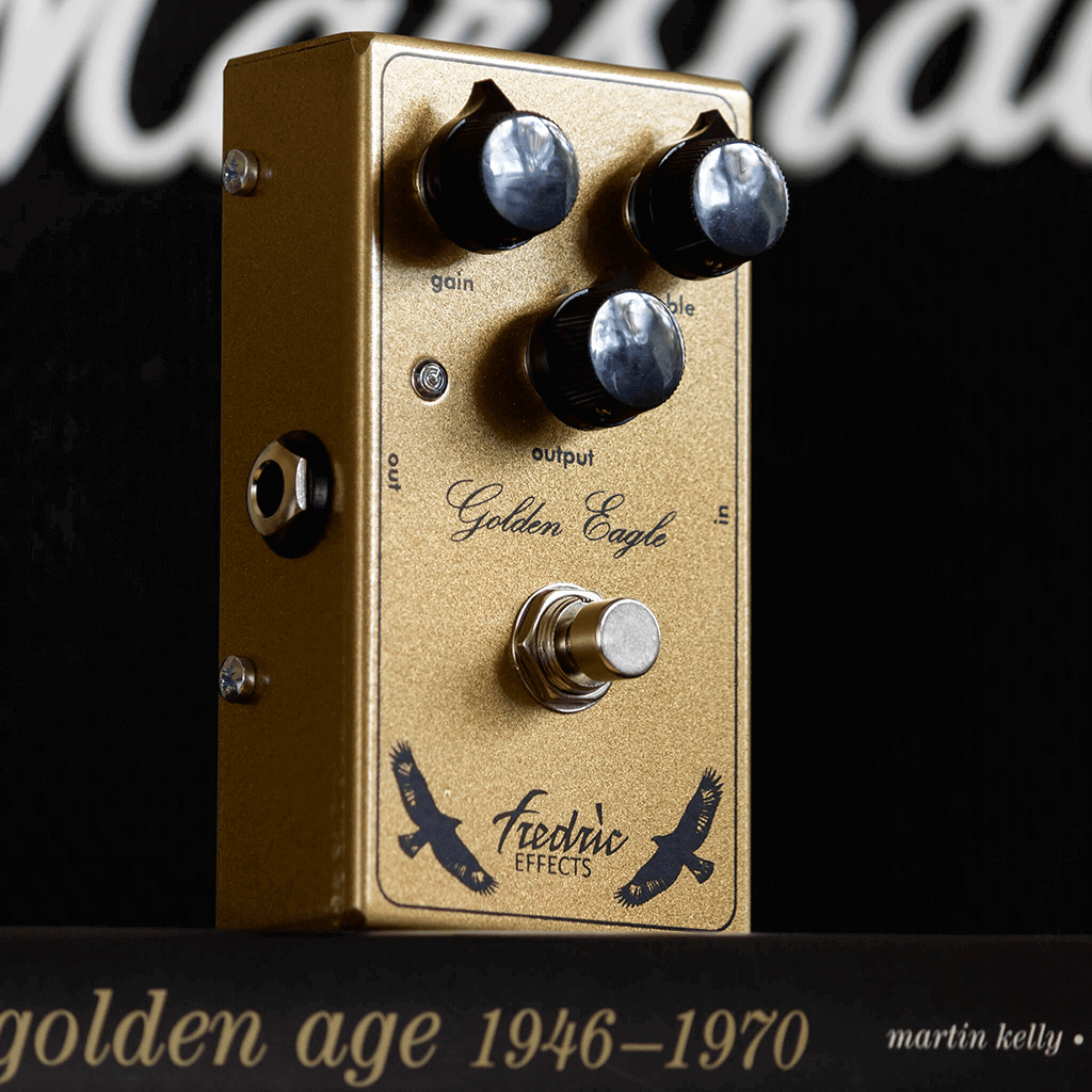 FREDRIC EFFECTS Golden Eagle Left Context | Boost Guitar Pedals