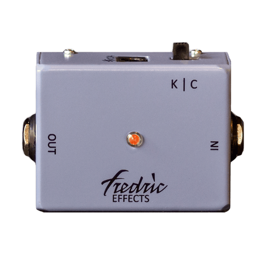 FREDRIC EFFECTS KC Buffer Front Transparent | Boost Guitar Pedals