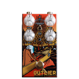 GREENHOUSE EFFECTS Outlier front transparent | Boost Guitar Pedals