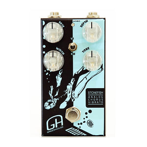 GREENHOUSE EFFECTS Stonefish front - Boost Guitar Pedals