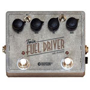 RAYGUN FX Twin Fuel Driver Front 2 - Boost Guitar Pedals