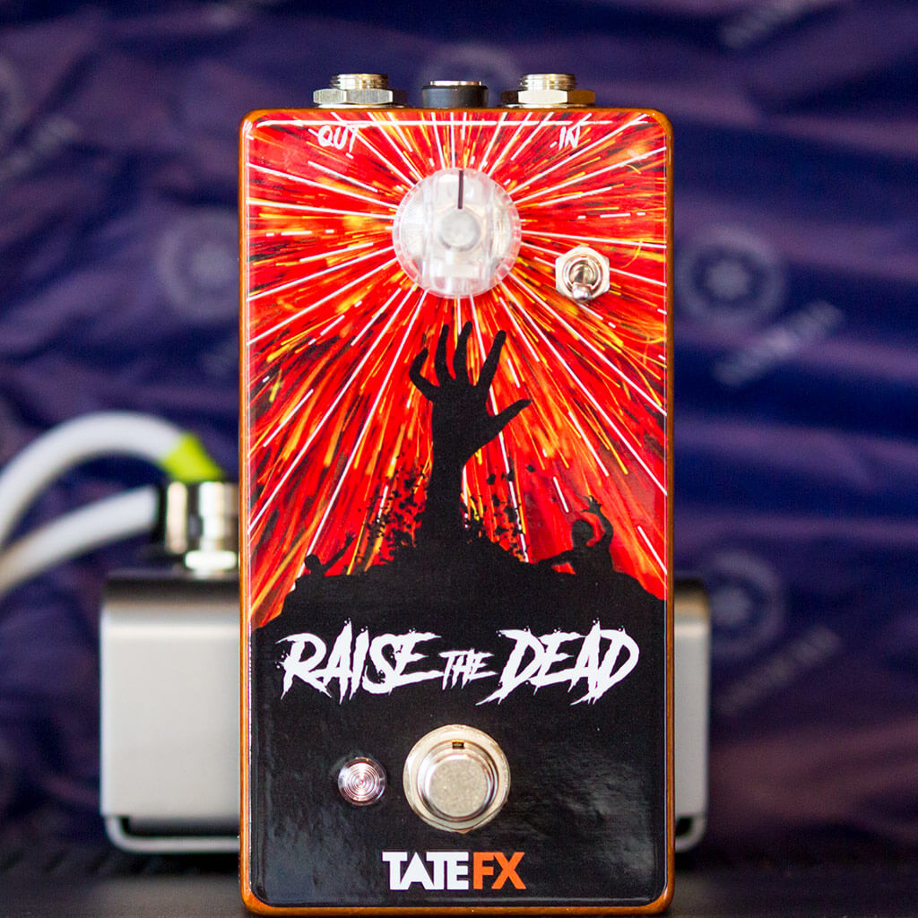 TATE FX Raise The Dead BGP Limited Edition Front Context 1024 | Boost Guitar Pedals