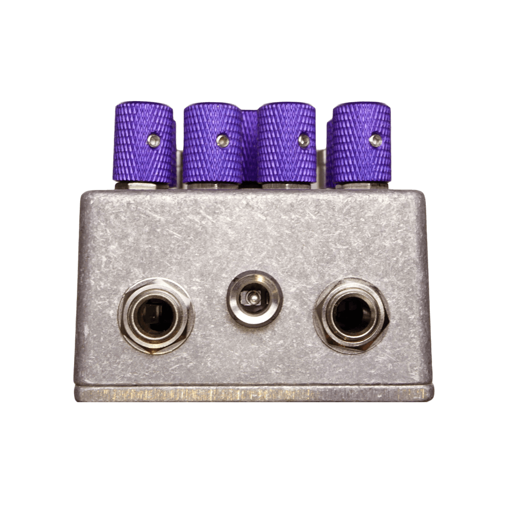 ZANDER CIRCUITRY Cranium Murine Distortion top transparent | Boost Guitar Pedals