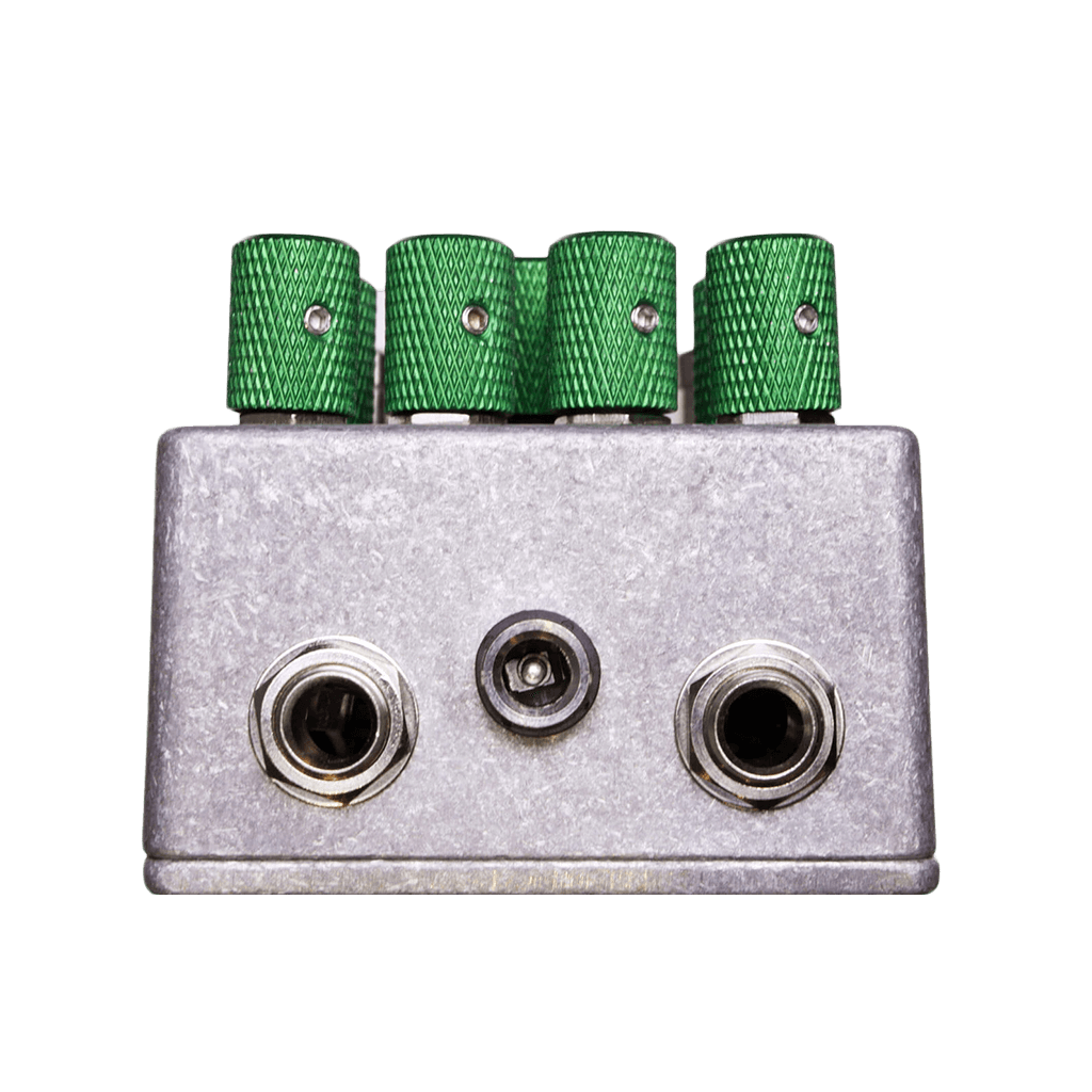 ZANDER CIRCUITRY Surplus Elemental Overdriver Top Transparent | Boost Guitar Pedals