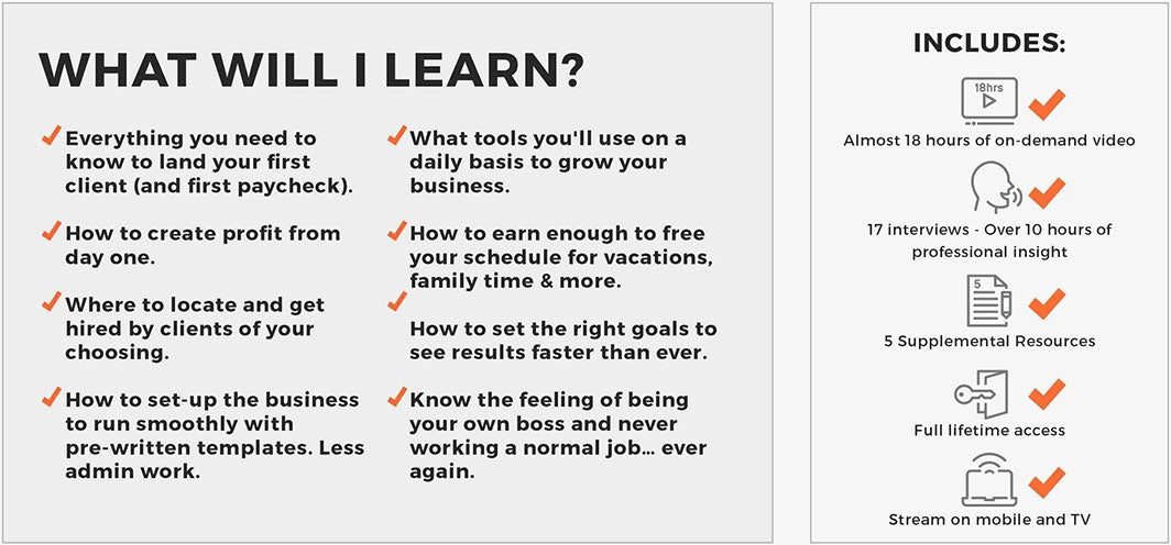What you'll learn