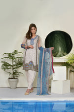Load image into Gallery viewer, 123715- Printed Embroidered Lawn 3PC
