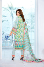 Load image into Gallery viewer, 123633- Printed Embroidered Lawn 3PC