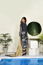 Load image into Gallery viewer, 123706- Printed Embroidered Lawn 3PC