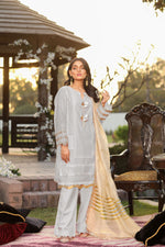 Load image into Gallery viewer, 123735- Printed Embroidered Lawn 3PC