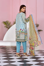 Load image into Gallery viewer, 121214- Embroidery Printed Lawn 3PC