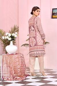 121217- Embroidery Printed Lawn 3PC