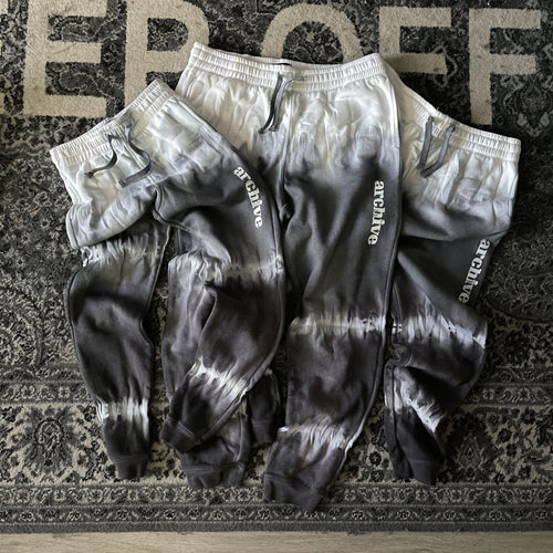GUNMETAL dyed sweats (dark grey)