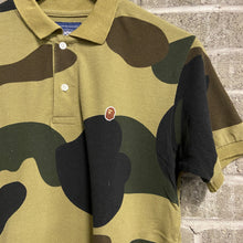 Load image into Gallery viewer, Bape Camo Polo