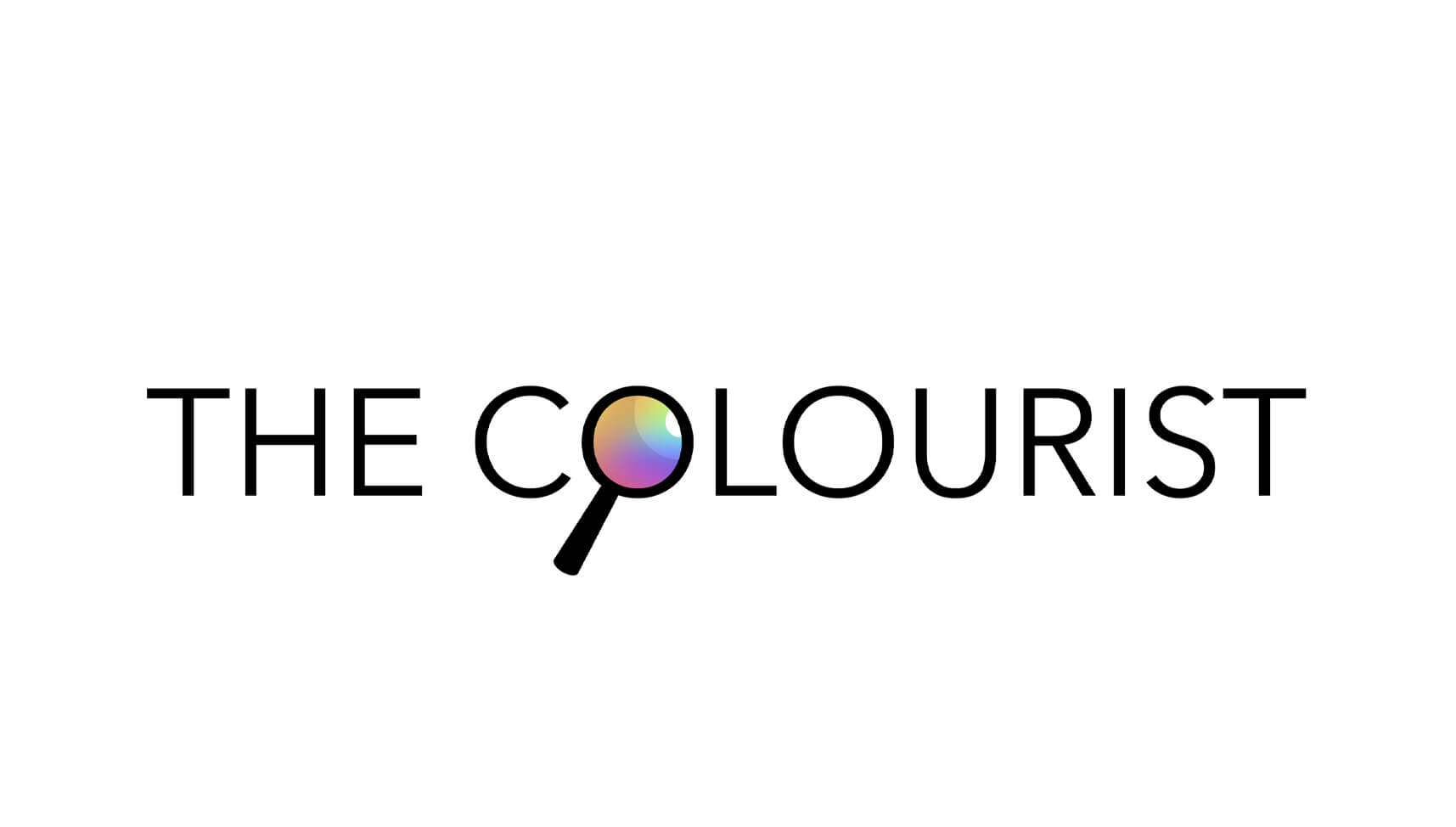 The Colourist blogging handle logo of artist Helen Trevisiol Duff