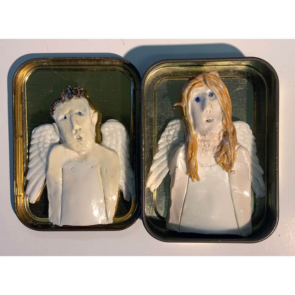 A pair of guardian angels by Heather Tobias