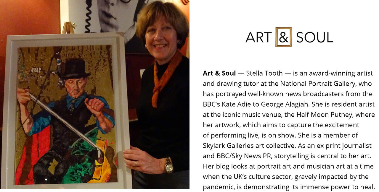 Stella Tooth Art & Soul blogger biography and photo