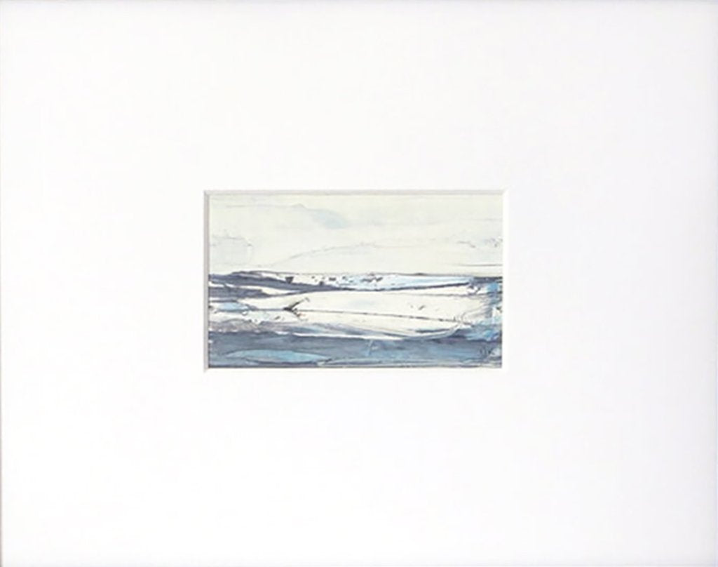 Landscape in Icelandic White artwork by Sarah Knight