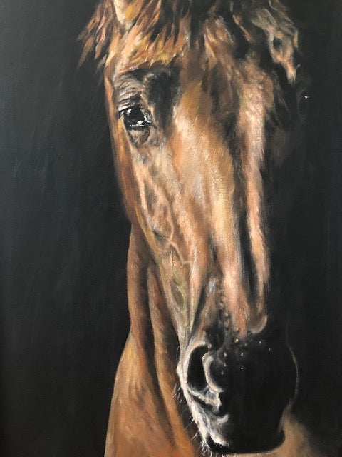 Horse by artist Claire Thorogood