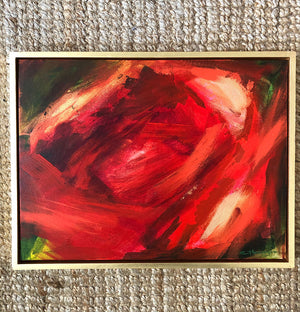 Abstract Peony 2 by Claire Thorogood Artist