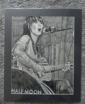 Anna Wolf at the Half Moon Putney original artwork by Stella Tooth