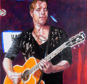 Arno Carstens at the Half Moon Putney Original Artwork by Stella Tooth Detail