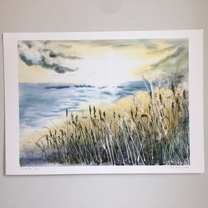 By The Sea by Helen Trevisiol Duff giclée print