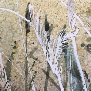 By The Sea by Helen Trevisiol Duff giclée print detail reeds